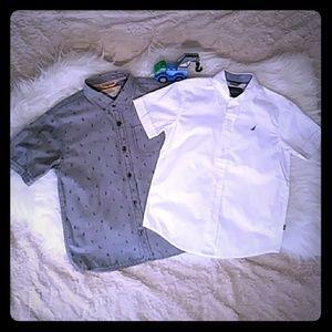 ⛵2 CRISP Button Up Shirts